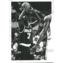 1994 Press Photo Carl Herrera Houston Rockets Player - RRQ62383
