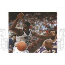1995 Press Photo Los Angeles Lakers Shaquille O'Neal - RRQ66611