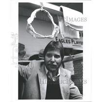ca. 1980 Press Photo Ron Jaworski Locker Room Eagles - RRQ17421