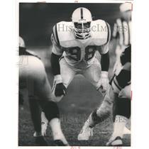 Press Photo Baltimore Colts LB Johnnie Cooks - RRQ55099