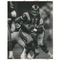 Press Photo San Diego Chargers Jim Everett America Rams - RRQ55129