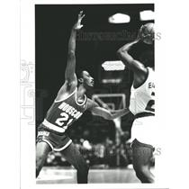 Press Photo Eric Floyd Houston Rockets - RRQ62399
