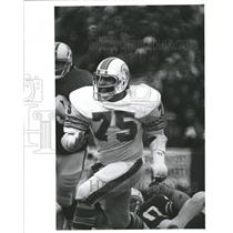 Press Photo Larry Little Miami Dolphins - RRQ63821