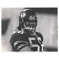 Press Photo Jeff Lageman NFL New York Jets Player - RRQ65981