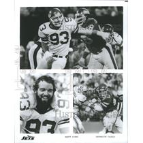 Press Photo Marty Lyons defensive tackle New York Jets - RRQ67303
