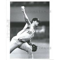 Press Photo San Diego Padres Andy Benes - RRQ71595
