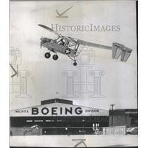 1947 Press Photo Army Air Force Wichita Angel Boeing - RRQ54765