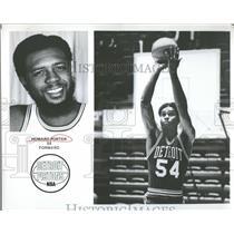 1975 Press Photo Howard Porter Forward Detroit Pistons - RRQ41273