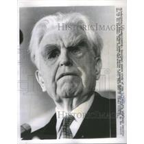 1963 Press Photo United Mine Workers President John L Lewis Retirement
