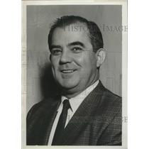 1964 Press Photo Waverly Johnson Jr., Director of Aviation, Birmingham, Alabama