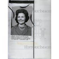 1966 Press Photo Mrs Robert P. Griffin - RRX59067