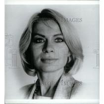1988 Press Photo Cynthia Smith Michigan State Chamber - RRX46135