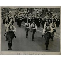 1974 Press Photo Englewood Band in a Parade - RRX79057