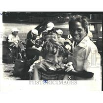 1977 Press Photo Handicapped Kids Paralyzed Veterans - RRV42985