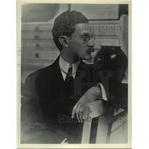 1912 Press Photo Artist Morton Livingston Schamberg self portrait - mjc05783