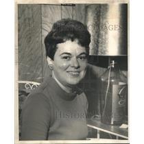 1969 Press Photo Mrs. C. Morton Hawkins, Jefferson Parish League of Women Voters
