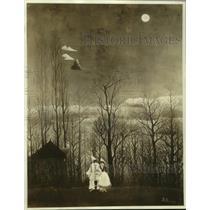 "1942 Press Photo Henri Rousseau's ""Carnival Evening"" - ney31448"