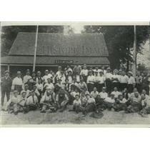 1913 Press Photo South Side Hunting & Fishing Club Members - mjx48099