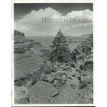 1974 Press Photo View of the Grand Canyon in Arizona - nox22468
