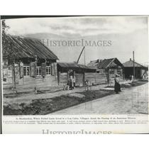 1929 Press Photo Village of Shushenskoe, Russia, Where Lenin Lived in Exile