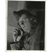 1942 Press Photo Canada Army Air Corps Pilot F/L John MacDonald of Antigonish