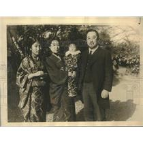 1925 Press Photo Tsuneo Matsudaira , new Japanese ambassador to US - sba28631