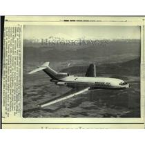 1971 Press Photo A Boeing 727, the type of jetliner that crashed in Alaska