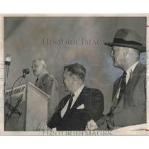 1953 Press Photo Montgomery's Improved Dannely Field Municipal Airport Dedicated