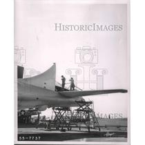 1956 Press Photo Alabama's Hayes Aircraft's Newest Project, Conversion of B-50