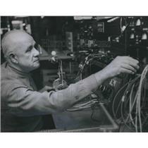1968 Press Photo Pioneer Pilot Glen Messer - abno06135