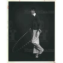 1978 Press Photo Greg Campbell jump ropes for exercise - hca24044