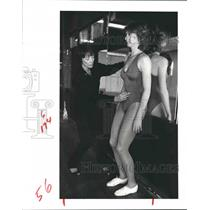 1983 Press Photo Good Posture is Necessary For Exercises to be Effective