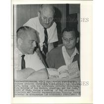 1966 Press Photo Paul Brechle, Western Athletic Director in Albuquerque