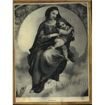 "1942 Press Photo Raphael's ""Madonna"" - mjc22676"