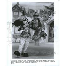 1987 Press Photo Pinocchio - Walt Disney Character - RRW33203
