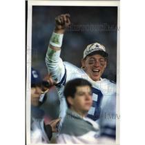 1993 Press Photo Dallas Cowboys - Troy Aikman, Quarterback - mjt00108