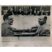 1964 Press Photo Ford Motor Company Auto workers Walter - RRX17645