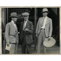 1928 Press Photo Cyrus Northcott Al Kolley Investigator - RRX75207