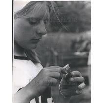 1967 Press Photo Garstki Indian Winter Site Artifact - RRU73807