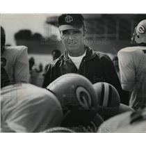 1970 Press Photo Wisconsin Green Bay Packers - Phil Bengtson, Head Coach