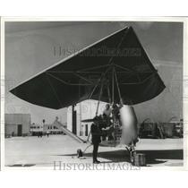 1963 Press Photo Flexible Wing Aircraft (Army Fleep) - nem66163