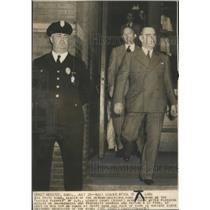1939 Press Photo Sig Fritz Kuhn leader German American- RSA40337