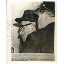 1964 Press Photo Dr. Werner Heyde, Nazi war criminal, taken into custody