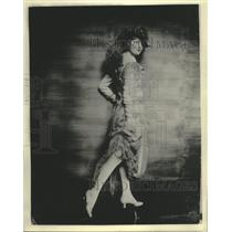 1920 Press Photo Actress Peggy Hopkins Joyce