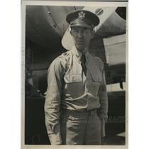 1939 Press Photo Capt.R.L. Winn Commanded Army Flight over Northeastern Cities