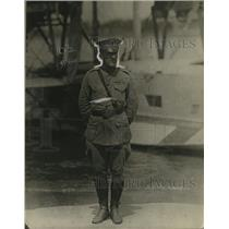 1923 Press Photo 1st Lieutenant LH Sanderson US Marine Corps