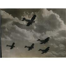 1926 Press Photo Bristol Fighting Planes shown at Salon D'Aviation in Paris