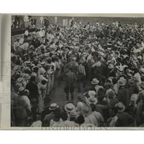 1930 Press Photo French Flyers at Love Field in Dallas