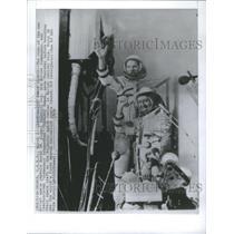 1978 Press Photo Soviet space capsule Soyz Alexei Gubarev Czechoslovak Cosmonaut
