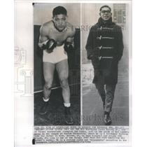 1964 Press Photo Joe Louis Barrow Jr Heavyweight Big- RSA61121